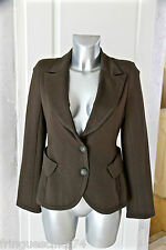 luxurious jacket bcbg waisted khaki BEL-AIR size 3 (38-40) NEW LABEL