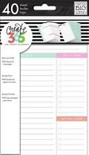NEW MAMBI The Mini Happy Planner - Daily Schedule To Do Sheets