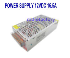 S-200-12 Super Stable 12V 13.8V Regulated Radio Power Supply 10.5 - 13.8V 16.5 A