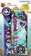 Disney Descendants Stationery Set Includes gadget Customising Stickers