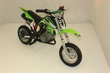 NEW 50CC MINI MOTO SCRAMBLER DIRT DEVIL MOTORBIKE~KIDS OFF-ROAD CROSSER~GREEN