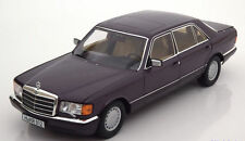 NOREV 1991 Mercedes Benz 560 SEL W126 Violett Metallic 1:18*Last One!