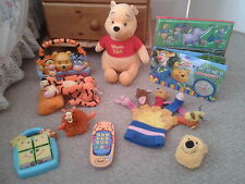 Winnie The Pooh: Soft Toy/Book/Radio/Hand Puppet/Phone/Puzzle/Purse (Bundle/Lot)