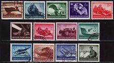 THIRD REICH 1944 complete Warmachines stamp set!