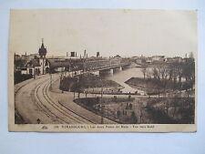 """CPA """"Strasbourg - Les deux ponts du Rhin - Vue vers Kehl"""""""