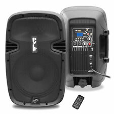 "Pyle PPHP837UB 8"" 600W BLUETOOTH Powered Speaker USB/AUX/MP3 Input & Remote"