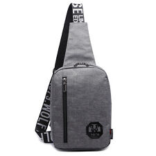 New Casual Men's Shoulder Bag Daily Hiking Chest Bag Small Pouch Messenger Bags
