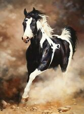 Art Canvas Print Horse oil painting Picture Printed on canvas 16x20 Inch P040