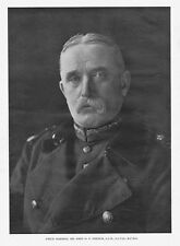 Field Marshal Sir John D.P French - Vintage Photographic Print 1914