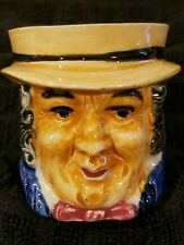 1940's Small Character Jug Toby Occupied Japan Colonial Forefather Dickens