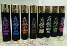 8 Clipper Lighters - Rare Weed Bud Strains Plant - Complete Matching Collection