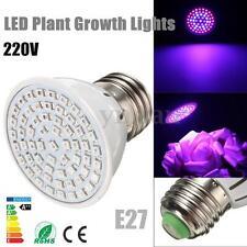 New E27 60 LED Plant Grow Light Bulb Lamp for Garden Flowering Hydroponics