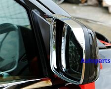 Chrome side Mirror rims frame trim Rain Visor For JEEP Grand Cherokee 11-2016