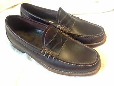 NEW G.H. Bass SlipOn Weejuns Penny Loafers - Larson Brown Leather 9