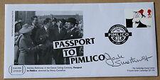 Comedians passaporto a Pimlico 1998 FDC firmato dall' attore JACK smethurst