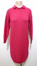 MARELLA Abito Vestito Donna Lana Woman Wool Sweater Dress Sz.M - 44