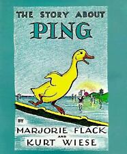 The Story about Ping by Kurt Wiese and Marjorie Flack (1933, Hardcover)