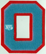 """HOUSTON OILERS NFL FOOTBALL 5.5"""" CHENILLE LETTER PATCH"""
