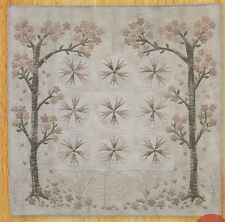 Cherry Blossom Mini Quilt - beautiful applique wall quilt PATTERN - Yoko Saito