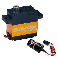 Savox SH-0264MG Super Torque Metal Gear Micro Digital Servo  + Glitch Buster