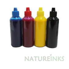 4 Pigment dye Refill Printer Ink Bottles kit for Canon Epson HP Brother 400ml