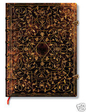 Paperblanks Writing Journal Lined Jean Grolier Brown Gold Ultra Size 7x9 NWT