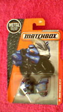 Matchbox (US Card) - 2016 - #83 BMW R1200 RT-P Motorcycle - Blue & Black