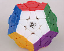 Dayan Megaminx I Corner Ridges Stickerless 12 Solid Color Magic Cube Puzzle Toys