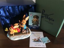 PenDelfin Rabbit Collectors Limited Edition Figurine - The Raft