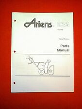ARIENS 932 SERIES SNO THROS SNOWTHROWER / SNOWBLOWER PARTS MANUAL 2-92