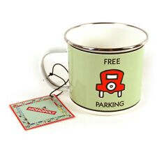 Pass go / parking gratuit émail tasse ~ Hasbro Monopoly Produit par Gift Republic