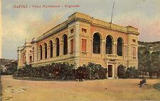 napoli - villa nazionale - acquario  . early 1900s