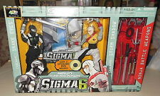 "GI JOE SIGMA 6 NINJA SHOWDOWN 8"" SNAKE EYES & STORM SHADOW=NRFB"