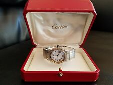 Cartier Santos Octagon Automatic Watch 18kt Yellow Gold & Stainless Steel,