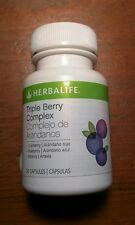 Herbalife Triple Berry Complex (cranberry, blueberry, bilberry) 30 caps exp 8/17