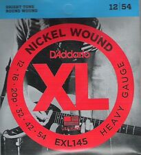 D 'addario am. Guitar heavy, 012-054 exl-145, I 7 *