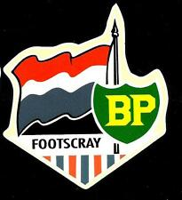 FOOTSCRAY & BP Vinyl Decal Sticker PETROL afl vfl BULLDOGS
