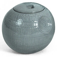 Star Wars - Death Star Ceramic Cookie Jar - 8 Inches High - New Official In Box
