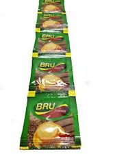 50  packets -  -Bru - Instant Coffee Pouch     -Makes 50 Cups- FREE SHIPPING