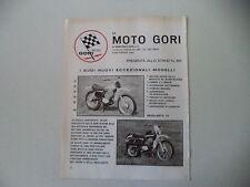 advertising Pubblicità 1973 MOTO GORI 125 CROSS/REGOLARITA'