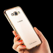 Gold Plating Electroplated TPU Back Cover Case For Samsung Galaxy J2  - 6 (2016)