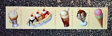2016USA Forever Soda Fountain Favorites - Strip of 5 - Mint NH