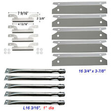 Brinkmann 810-1575-W Gas Grill Replacement Burners,Heat Plates,crossover channel
