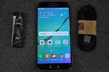 EXCELLENT Galaxy S6 Edge G925A 32GB Black AT&T Unlocked CLEAN ESN FAST SHIPPING