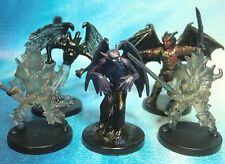 Dungeons & Dragons Miniatures Lot  Shadow Demon Shade Knight !!  s101