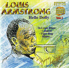 "CD LOUIS ARMSTRONG ""Hello Dolly"" Jazz! 20 Tracks New & OP Cosmus DSB"