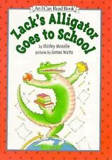 Zack's Alligator Goes to School (An I Can Read Book), Mozelle, Shirley, 00602288
