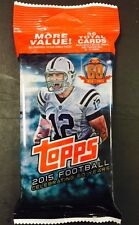 Case Hit AUTOGRAPH! HOT PACK 2015 Topps Football Andrew Luck Auto? Todd Gurley?
