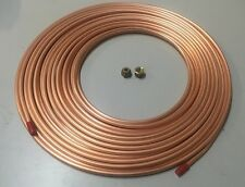 """Air-Con pipe tube /copper pancake coil 3/4"""" x 10M roll & 2 pcs 3/4"""" flare nuts"""