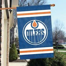"Edmonton Oilers Applique NHL Licensed 28"" x 44"" Banner / Flag - Free Shipping"